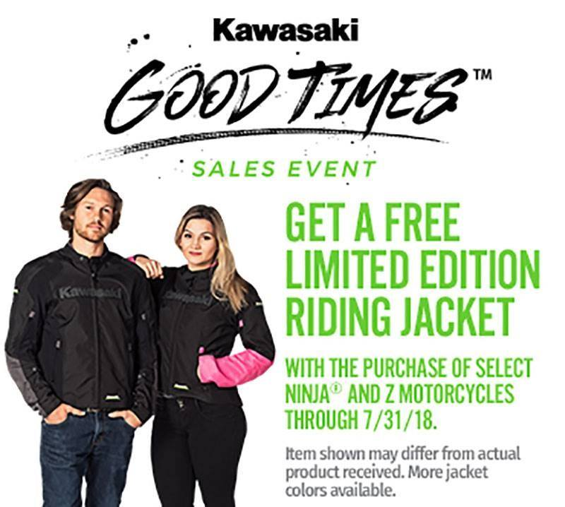 Kawasaki - FREE LIMITED EDITION RIDING JACKET